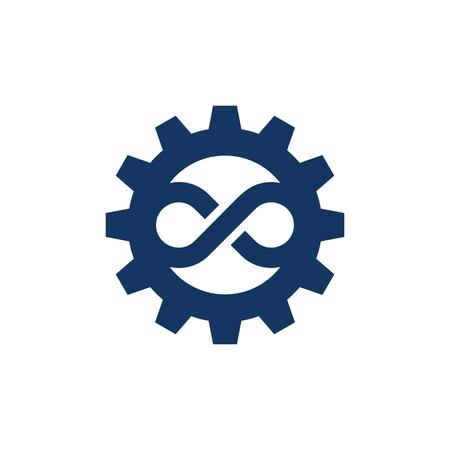 Infinite Gear Logo Icon Design