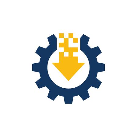 Download Gear Logo Icon Design