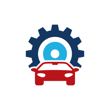 Automotive Gear Logo Icon Design