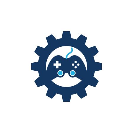Game Gear Logo Icon Design