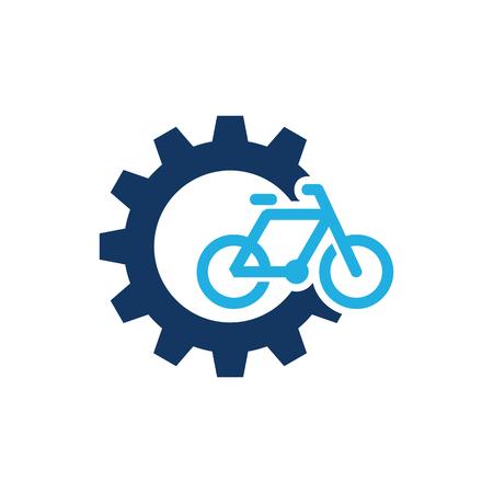 Bike Gear Logo Icon Design