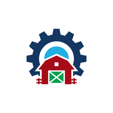 Farm Gear Logo Icon Design