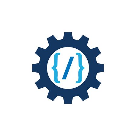 Code Gear Logo Icon Design