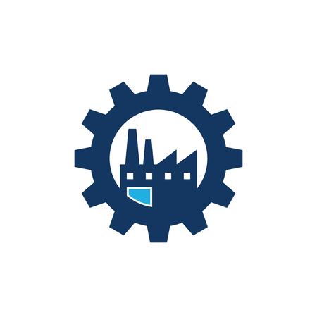 Factory Gear Logo Icon Design