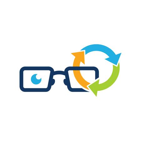 Recycle Geek Logo Icon Design