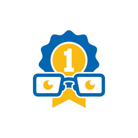 Best Geek Logo Icon Design Illustration