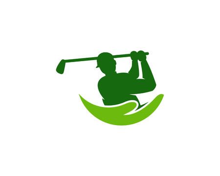 Support Golf Logo Icon Design