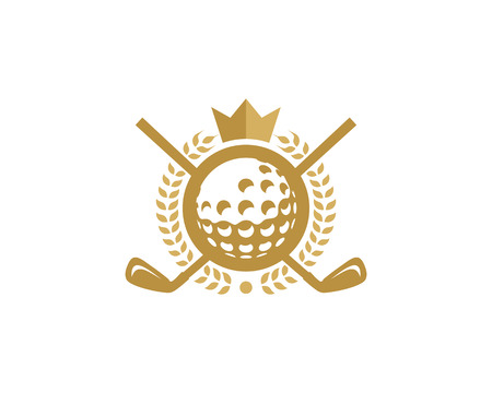 King Golf Logo Icon Design