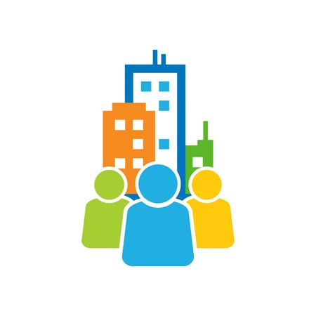Town Group Logo Icon Design