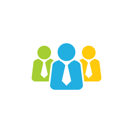 Job Group Logo Icon Design 일러스트