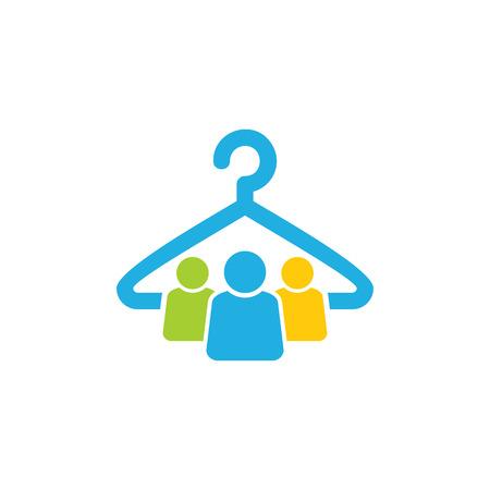 Laundry Group Logo Icon Design