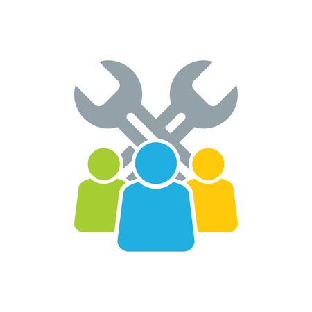 Fix Group Logo Icon Design