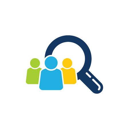 Search Group Logo Icon Design