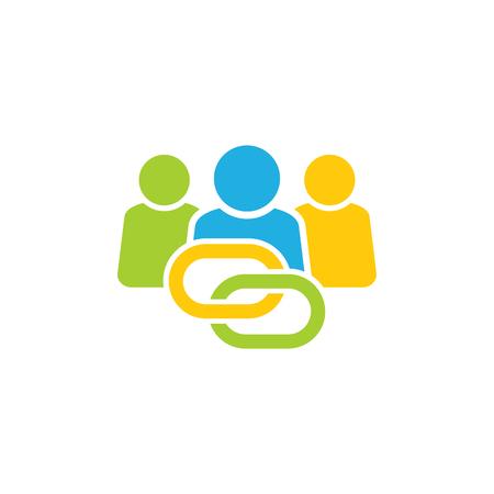 Connect Group Logo Icon Design