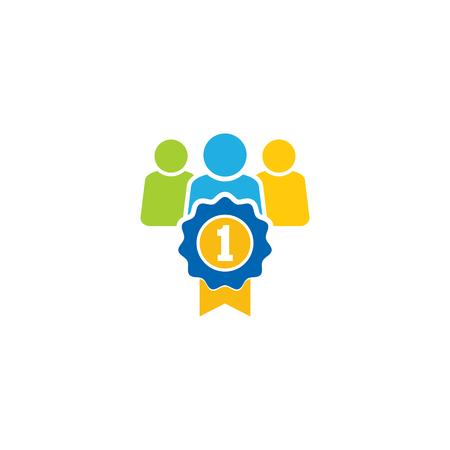 Best Group Logo Icon Design Illustration