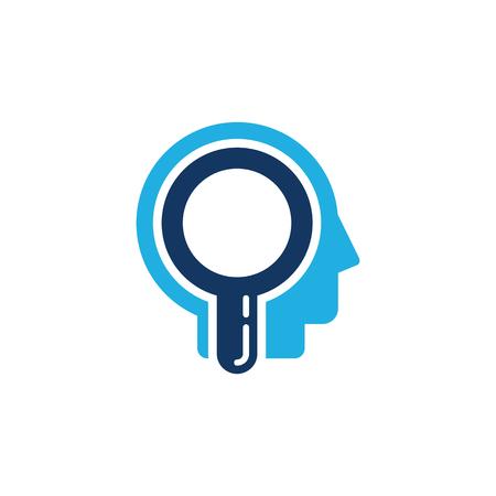Find Head Logo Icon Design