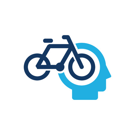 Bike Head Logo Icon Design