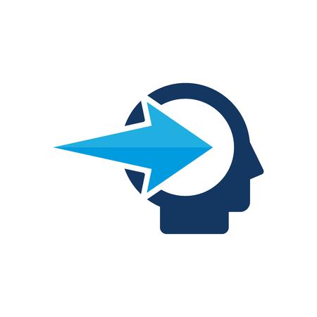 Arrow Head Logo Icon Design Vectores