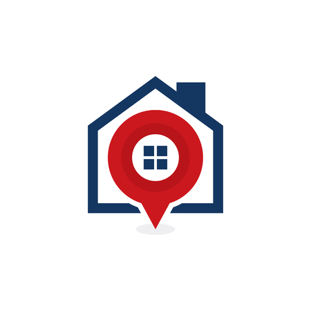 Point House Logo Icon Design