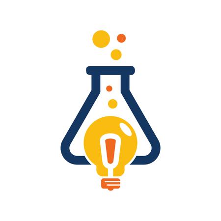 Research Idea Logo Icon Design