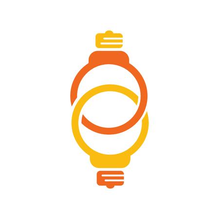 Link Idea Logo Icon Design