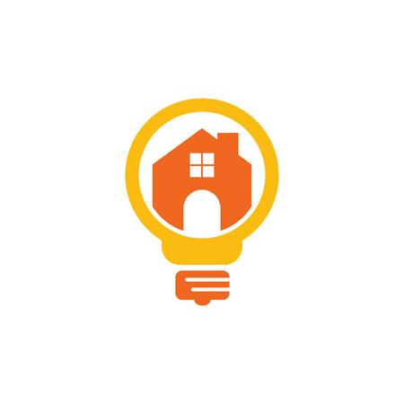 Home Idea Logo Icon Design