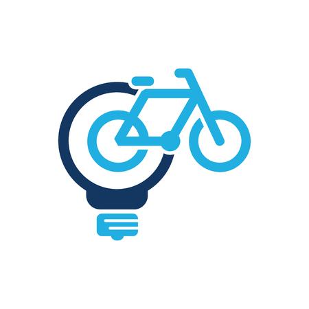 Bike Idea Logo Icon Design