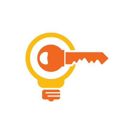 Key Idea Logo Icon Design