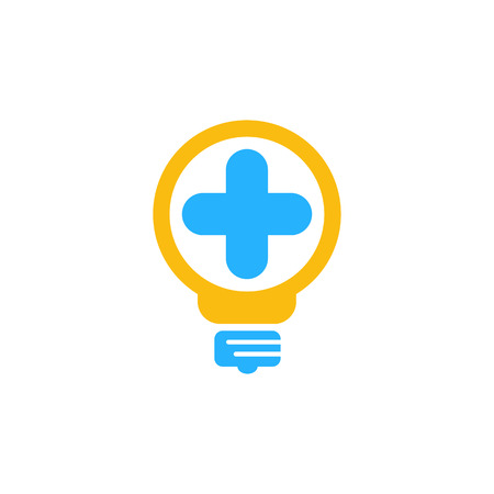 Medical Idea Logo Icon Design Stok Fotoğraf - 101452087