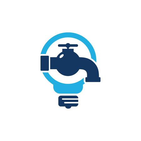 Plumbing Idea Logo Icon Design