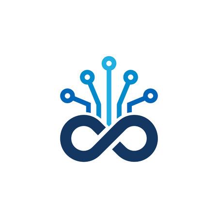 Digital Infinity Logo Icon Design