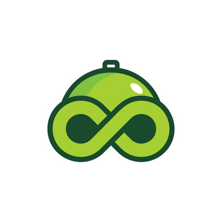 Food Infinity Logo Icon Design Banque d'images - 101452361