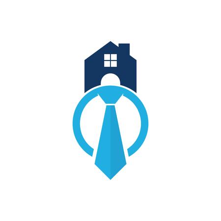 Home Job Logo Icon Design