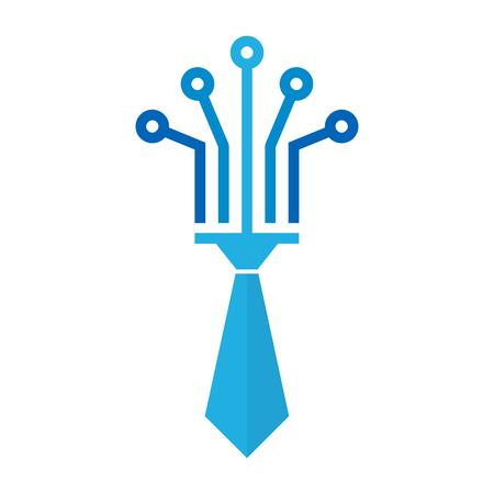 Digital Job Logo Icon Design