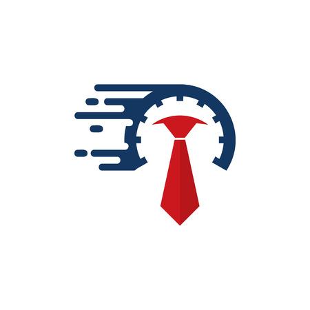 Speed Job Logo Icon Design