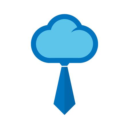 Cloud Job Logo Icon Design