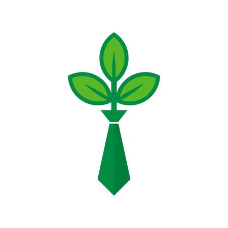 Nature Job Logo Icon Design Stock Illustratie