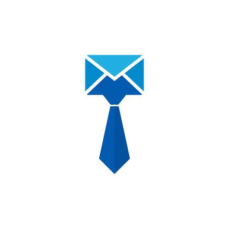 Mail Job Logo Icon Design