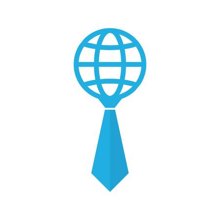 World Job Logo Icon Design
