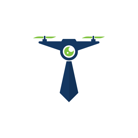 Drone Job Logo Icon Design