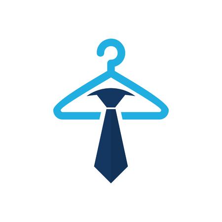 Laundry Job Logo Icon Design