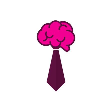 Brain Job Logo Icon Design