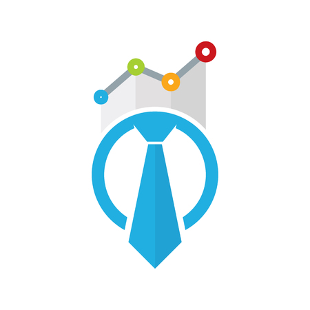 Stats Job Logo Icon Design