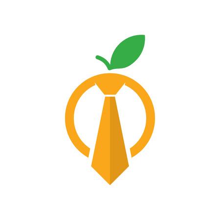Fruit Job Logo Icon Design