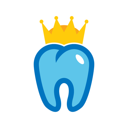 Dental King Logo Icon Design