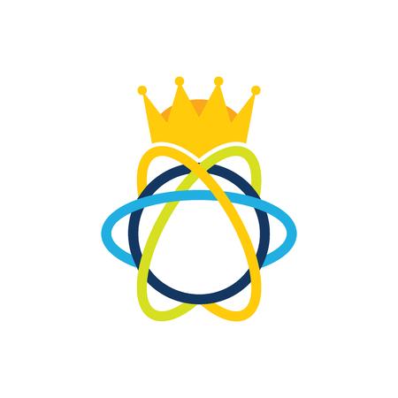 Science King Logo Icon Design