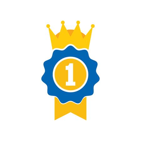 Best King Logo Icon Design Illustration