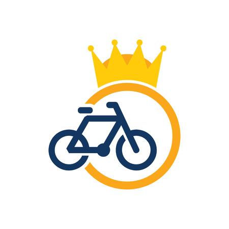 Bike King Logo Icon Design