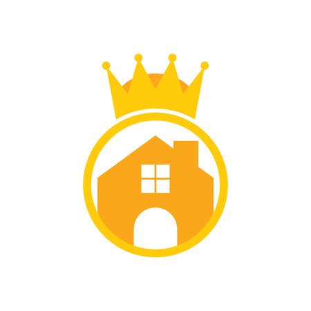 Home King Logo Icon Design