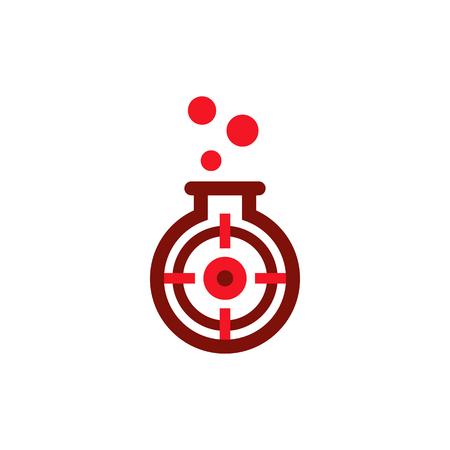 Accuracy Lab Logo Icon Design Ilustrace